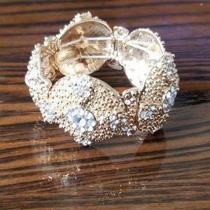 Stretchy Jeweled Bracelet
